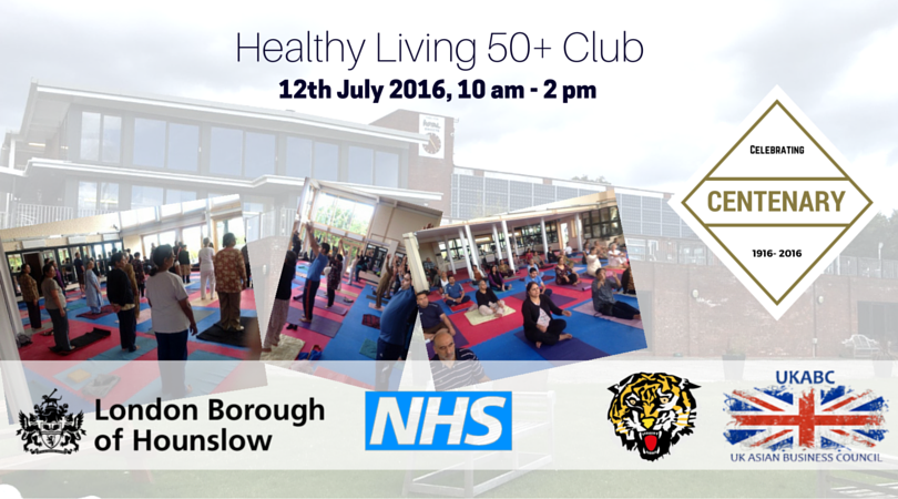 UKABC Promotes Over 50 Healthy Living Project - 12th July 2016 at Indian Gymkhana Club